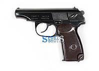 Пістолет під патрон флобера ПМФ-1 СЕМ з бакелітовою рукояттю, фото 1