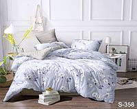 Евро комплект постельного белья - Maxi с компаньоном S358, фото 1