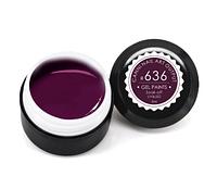 Гель-краска CANNI 5мл №636 темно-сливовая, фото 1