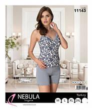 Пижама летняя майка с шортами NEBULA 11143 размер М