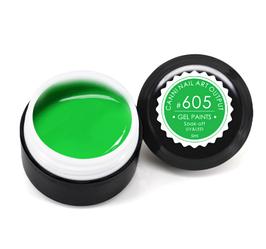 Гель-краска CANNI 5мл №605 зеленая