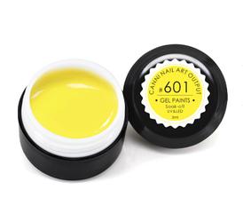 Гель-краска CANNI 5мл №601 теплая желтая