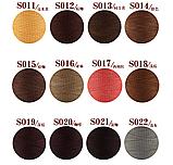Galaces 1.00 мм світло-коричневий (S019) плоский вощений шнур по шкірі, фото 3