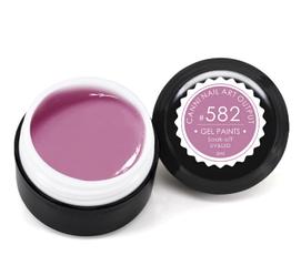 Гель-краска CANNI 5мл №582 лилово-розовая
