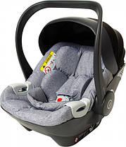 Автокрісло для немовлят COCO i-Size (0-15 міс. до 13 кг.) Grey Melange