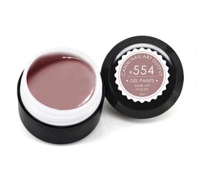 Гель-краска CANNI 5мл №554  розовое какао