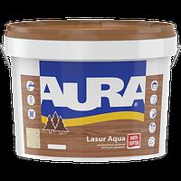 Лазурь для дерева AURA Lasur Aqua, белая, 9л