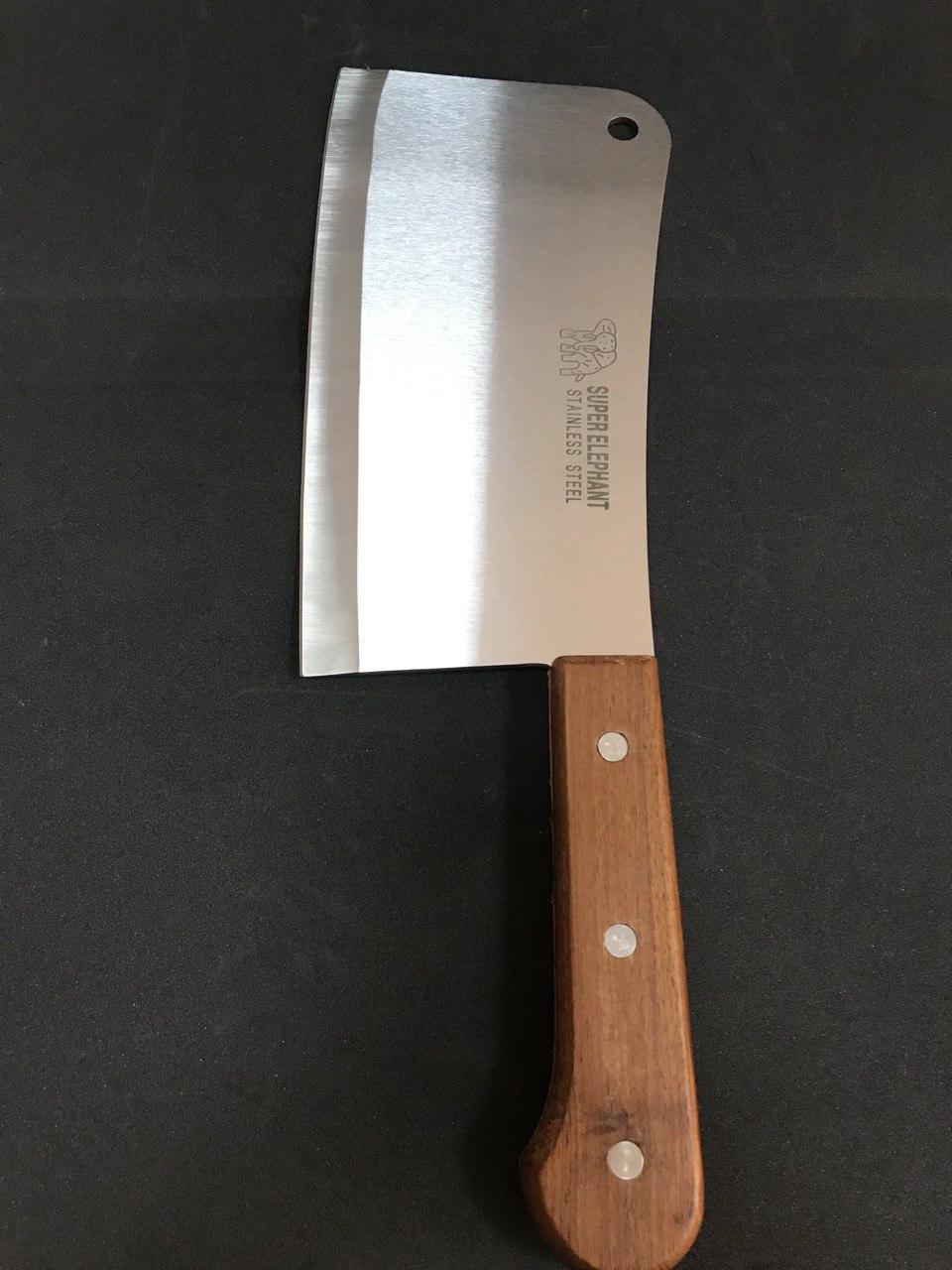 Кухонный топор для разделки мяса и костей Super Elephant 41*13,5 см