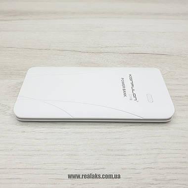 PowerBank Konfulon 5000mAh Edge (White), фото 3