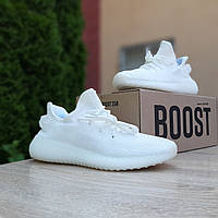 Женские кроссовки в стиле Adidas Yeezy Boost 350, текстиль, белые, 38 (24 см), размеры:37,38,39,40,41