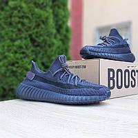 Женские кроссовки в стиле Adidas Yeezy Boost 350, текстиль, черные, 37, размеры:37,38,39,40,41