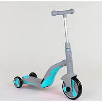 Самокат трансформер 3в1 Best Scooter (самокат, беговел, трехколесный велосипед) от 3 - 8 лет