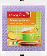 Впитывающие тряпочки Profissimo Schwammtücher для уборки кухни 5шт