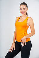 Майка-боксер женская оранжевая, фото 1