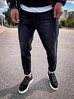 Мужские черные джинсы, фото 1