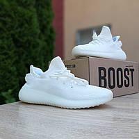 Женские кроссовки в стиле Adidas Yeezy Boost 350, текстиль, белые, 37 (23,5 см), размеры:37,38,39,40,41