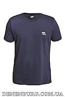 Футболка мужская KARL LAGERFELD 20-13081 тёмно-синяя, фото 1