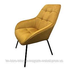 Крісло лаунж Morgan (Морган) жовтий каррі, Concepto