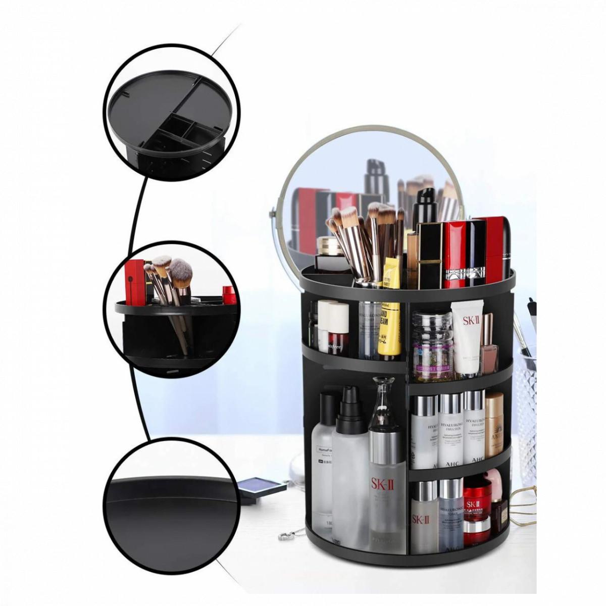 Органайзер для косметики 360 Черный