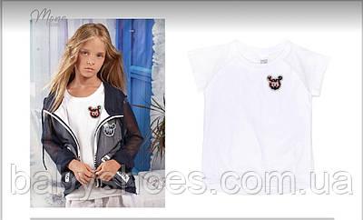 Mone, моне футболка топ   1741 для девочек р.116-134