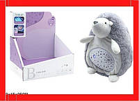 Ночник мягкий Ежик, с проектором Детский светильник ночник Светильники для детской Ночник ребенку