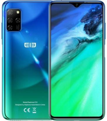 "Смартфон Elephone E10 4/64Gb Green, 48+12+5+2/15Мп, 6.5"" IPS, 2sim, 8 ядер, 4000mAh, Helio P22, 4G"