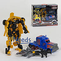 Набор роботов-трансформеров Inter Change No096 гоночная машина и грузовик-тягач