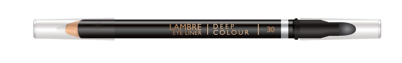 Карандаш для глаз LAMBRE Deep Colour Eye Liner №30 White/Белый