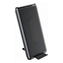 Додатковий акумулятор 10000 mAh Baseus Wireless power bank Black (WXHSD-D01)