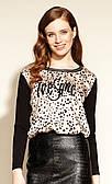 Блуза Asling Zaps бежевого цвета. Коллекция осень-зима 2020-2021