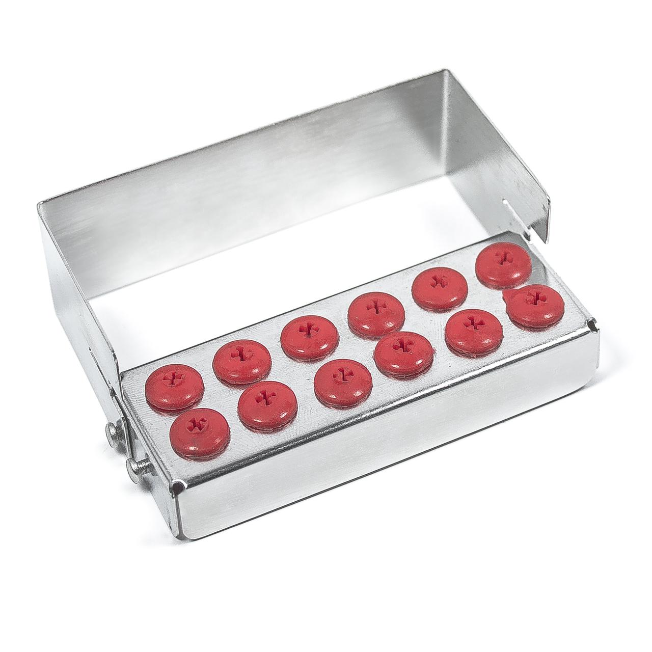 Подставка - стерилизатор стоматологический на 12 боров
