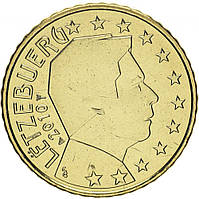 Люксембург 50 центов 2010 UNC