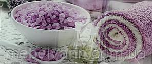 """Стеклодекор фиолетовый """"Соль"""" 23*50"""