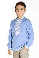 Вышиванка на мальчика, Детская вышитая рубашка для мальчика из натуральной ткани