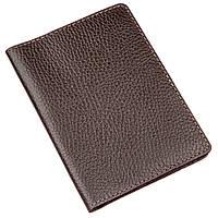 Бумажник-обложка для паспорта Shvigel кожаная Коричневый 13960, КОД: 1402290