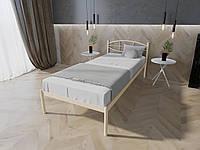 Кровать MELBI Лаура Односпальная 80х200 см Бежевый, КОД: 1388828