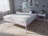 Кровать MELBI Элис Люкс Двуспальная 180х190 см Розовый, КОД: 1389574