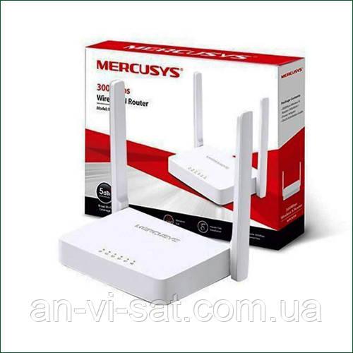 Безпровідний Маршрутизатор MERCUSYS MW301R(дві антени)
