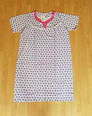 Женская ночная рубашка с короткими рукавами, фото 3