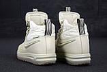 Женские зимние кроссовки Nike Lunar Force 1 Duckboot '17 Cream кроссовки найк лунар форс 1 дакбут '17 кросівки, фото 6