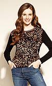 Zaps блуза Asling черного цвета. Коллекция осень-зима 2020-2021