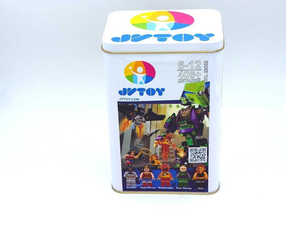 """Конструктор JVToy """"Битва з роботом Лекса Лютора"""", серія """"Найкращі супергерої"""" арт. 22002"""