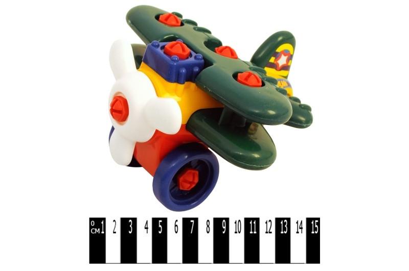 Літак-конструктор (кульок) 946 р.17*17,5*12,5см.