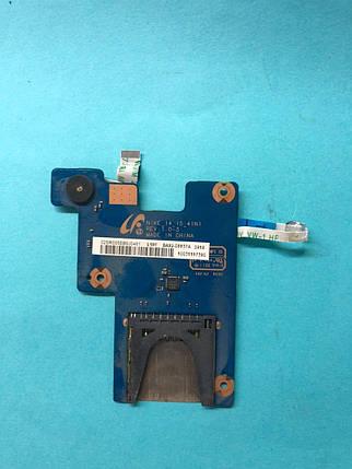 Картридер со шлейфами Samsung NP700Z5A / BA41-01732A NY / Nike15/, фото 2