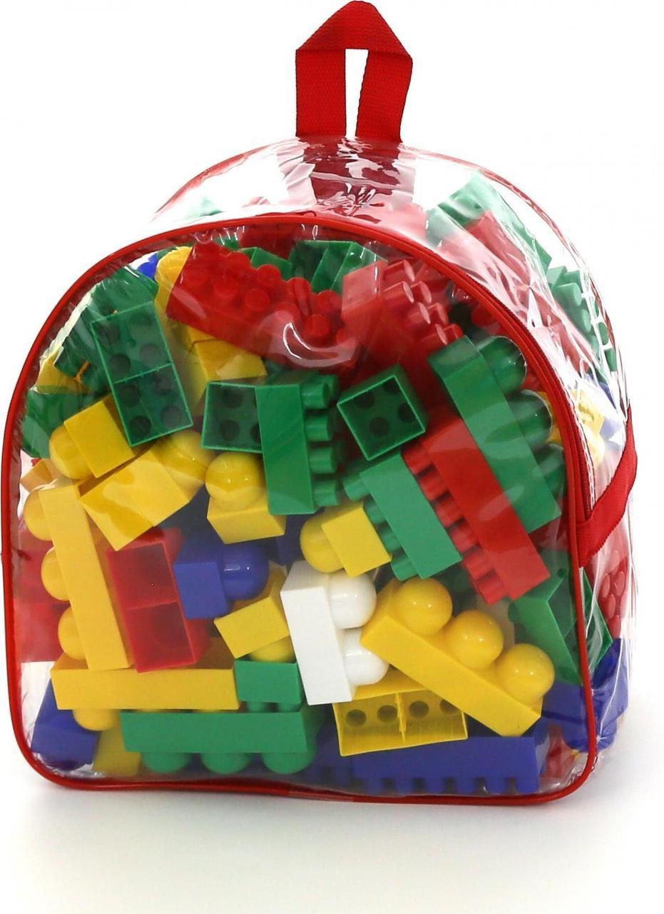 """8039 Серія конструкторів """"Самоделкин"""" - """"Супер-Мікс"""" - 144 елемента (в рюкзаку)"""