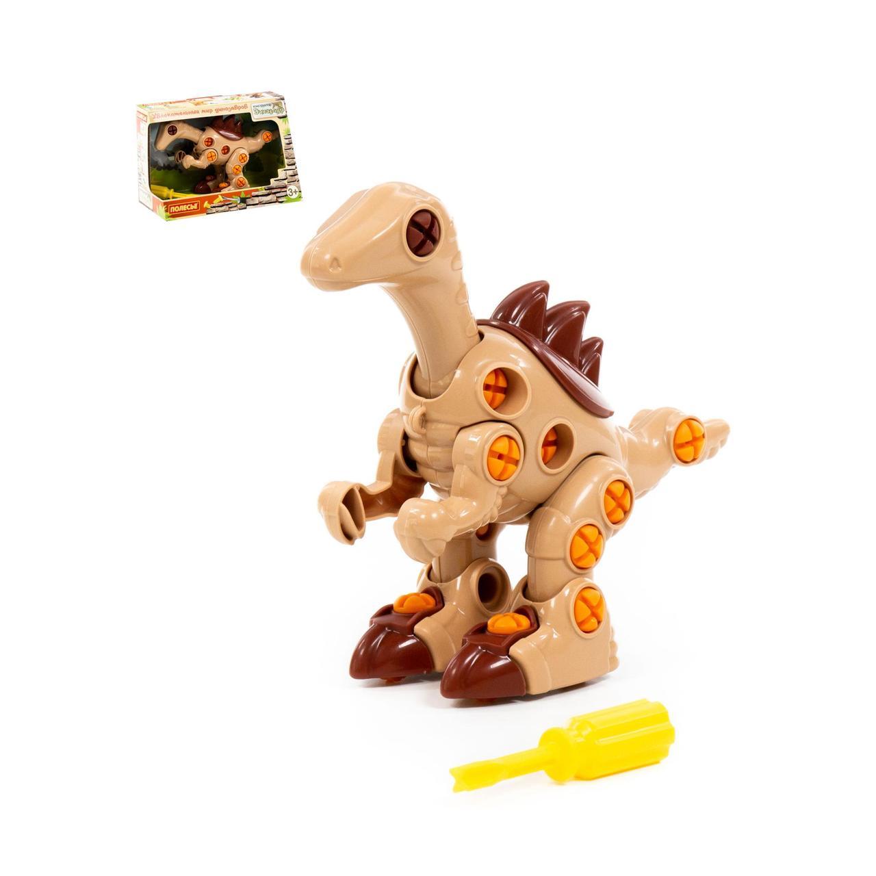 """Конструктор-динозавр """"Велоцираптор"""" (36 елементів) (в коробці)"""