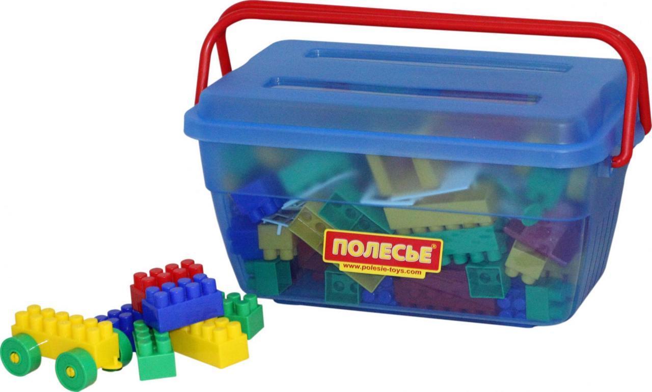 "Конструктор ""Будівельник"" (124 елемента) (в контейнері) 50410"