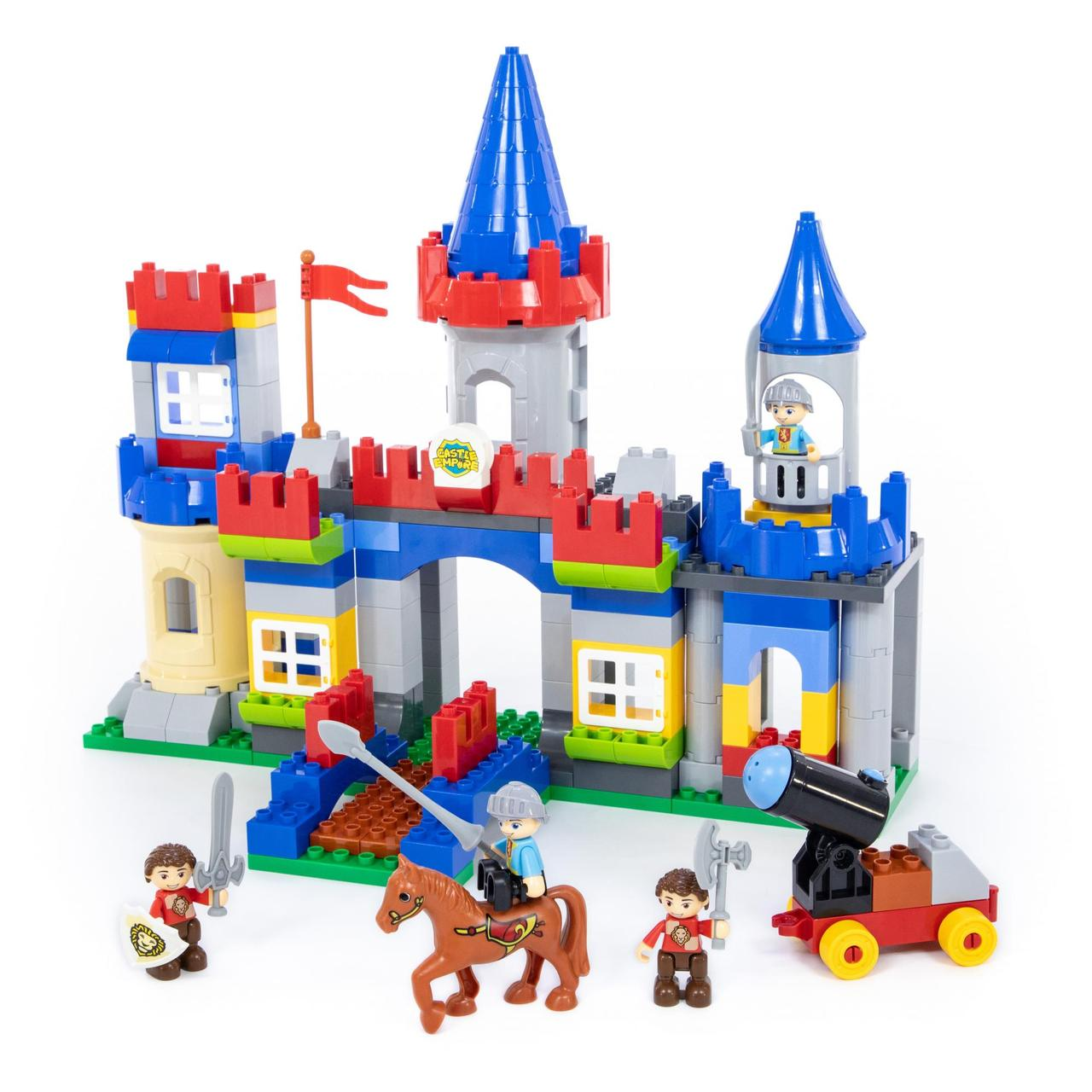 """Конструктор """"Максі"""" - """"Замок"""" (169 елементів) (в коробці)"""
