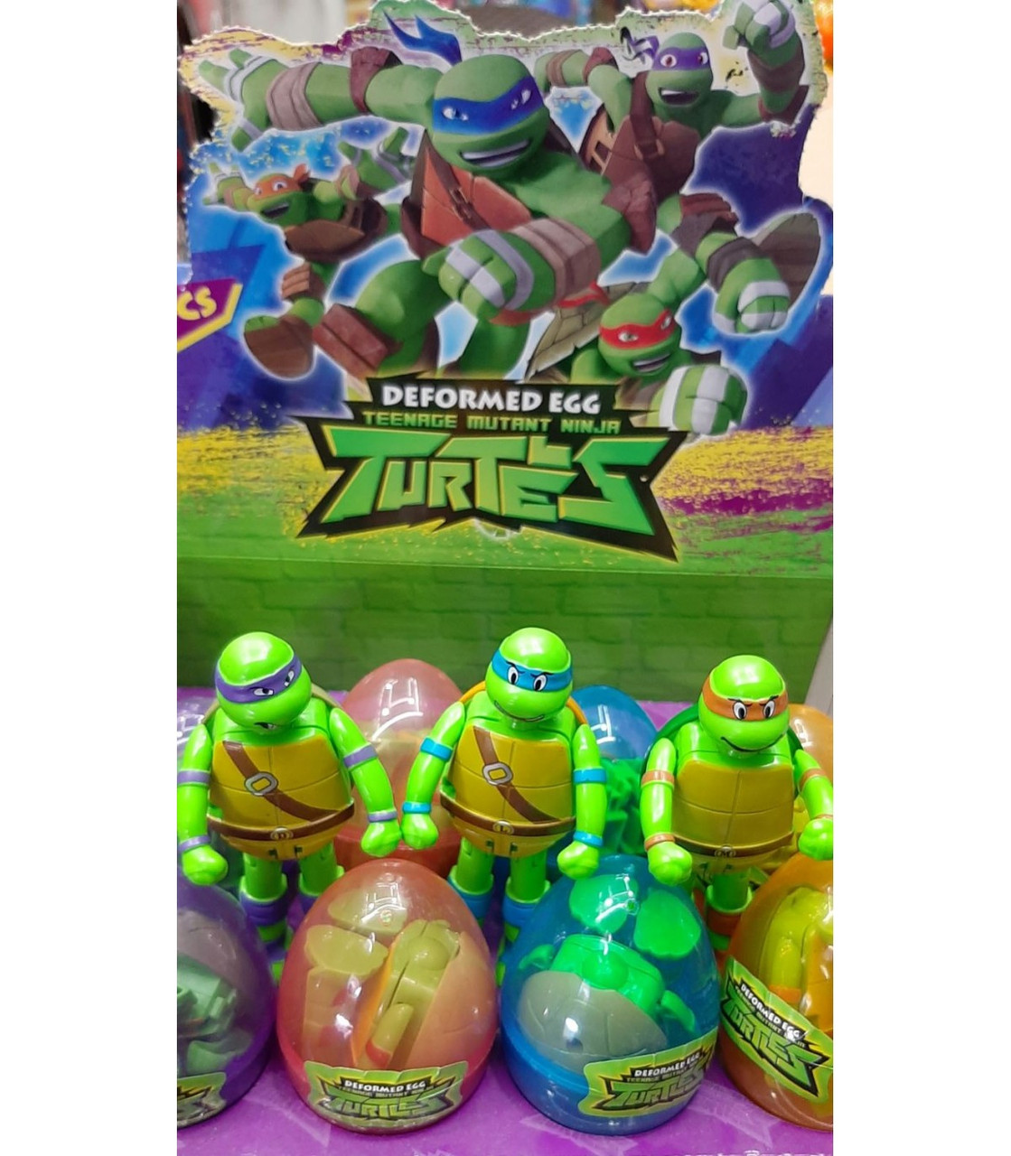 Робот-трансформер в яйці Черепашки Ніндзя Ninja Turtles EF47-2