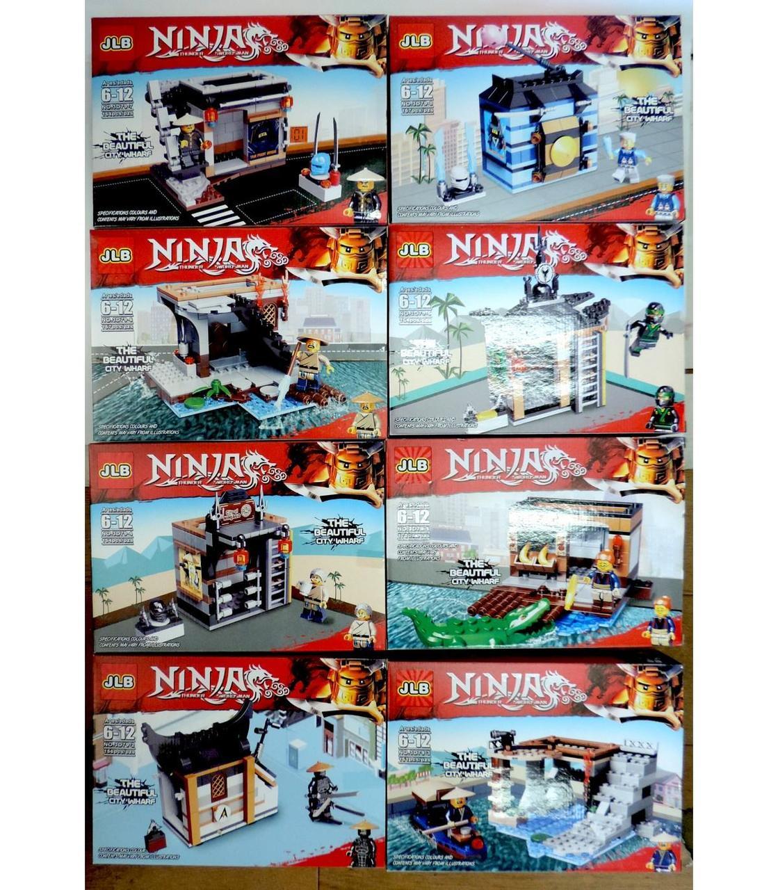 Конструктори JLB НинзяГо 8 Ninja 150+ GA7-9